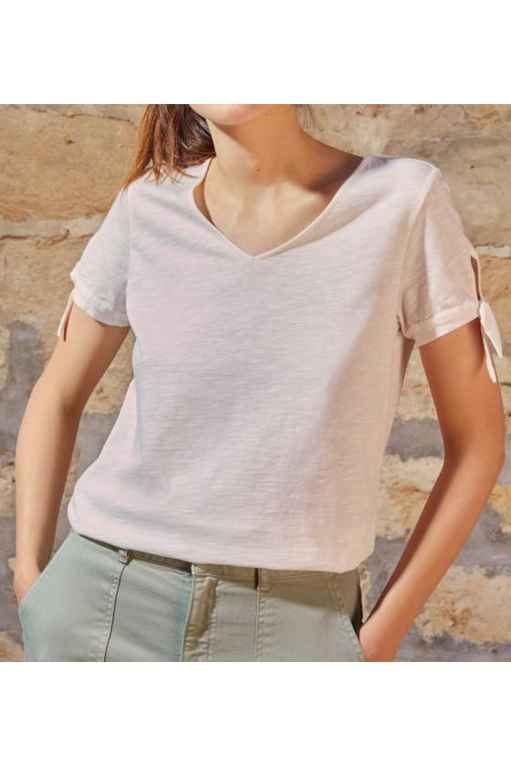 T-Shirt Felipa Écru - Des Petits Hauts