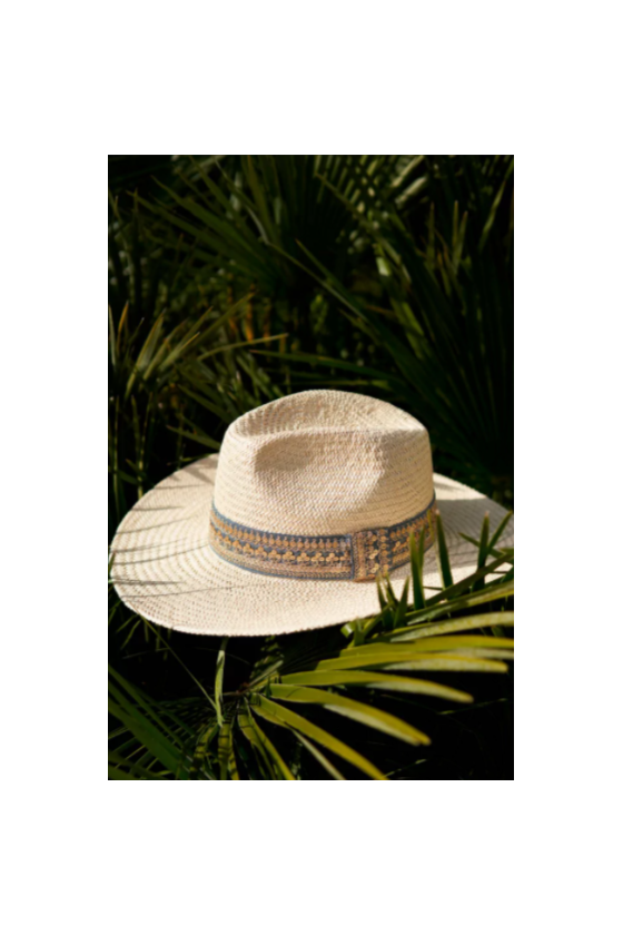 Chapeau de Paille 'Maradji' Rosalie Cielo