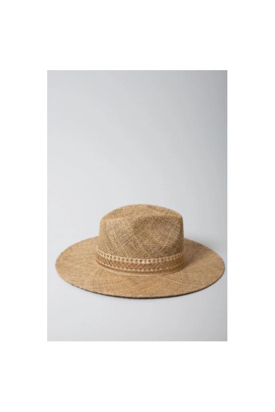 Sombrero de Paille 'Maradji' Ecru