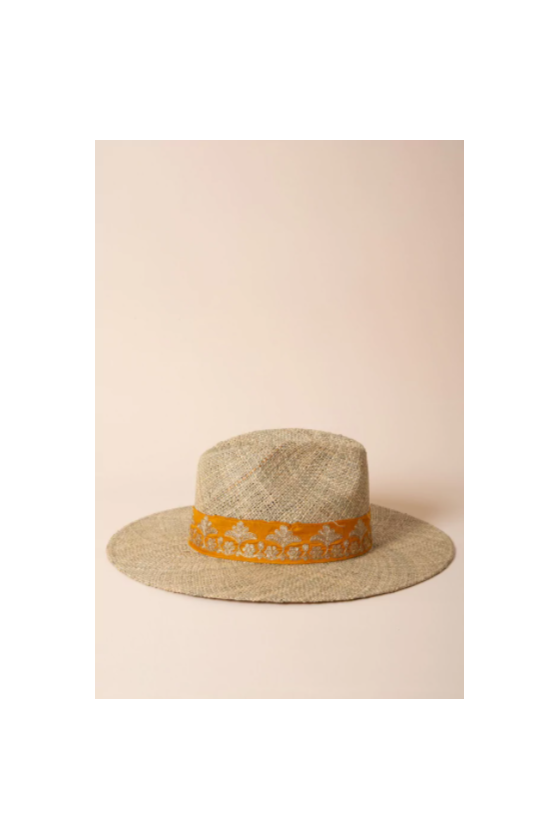 Sombrero de Paille 'Maradji' Doré