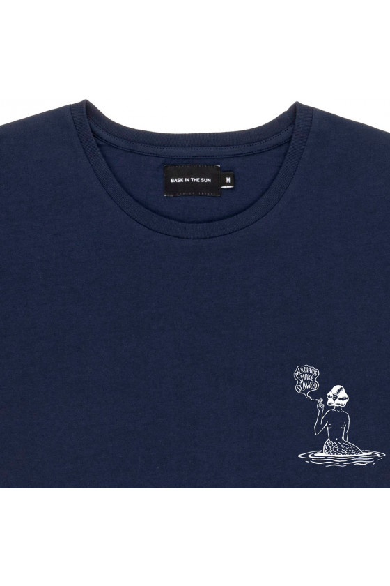 T-shirt 'Bask in the Sun' Mermaid