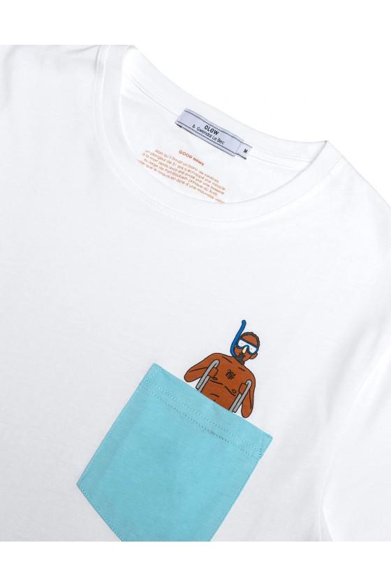 T-Shirt - Plongeur 21 - Olow