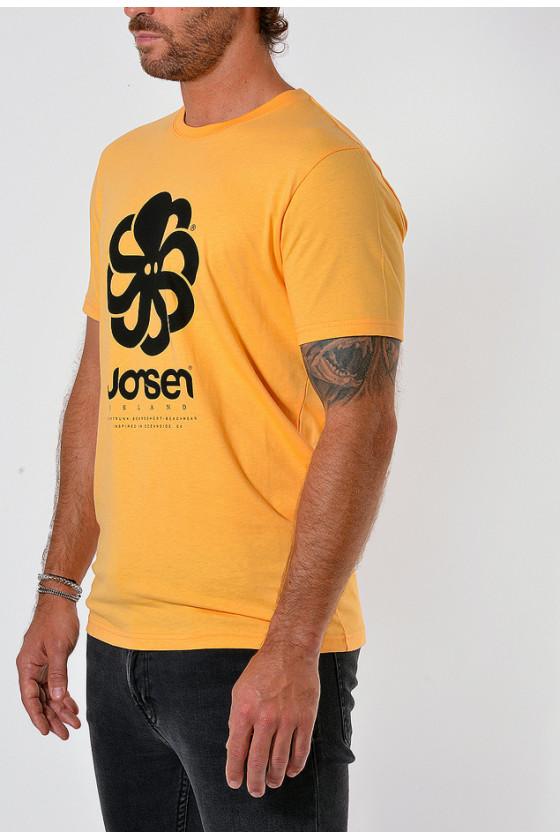 T-shirt 'Jonsen Island' Big Abricot