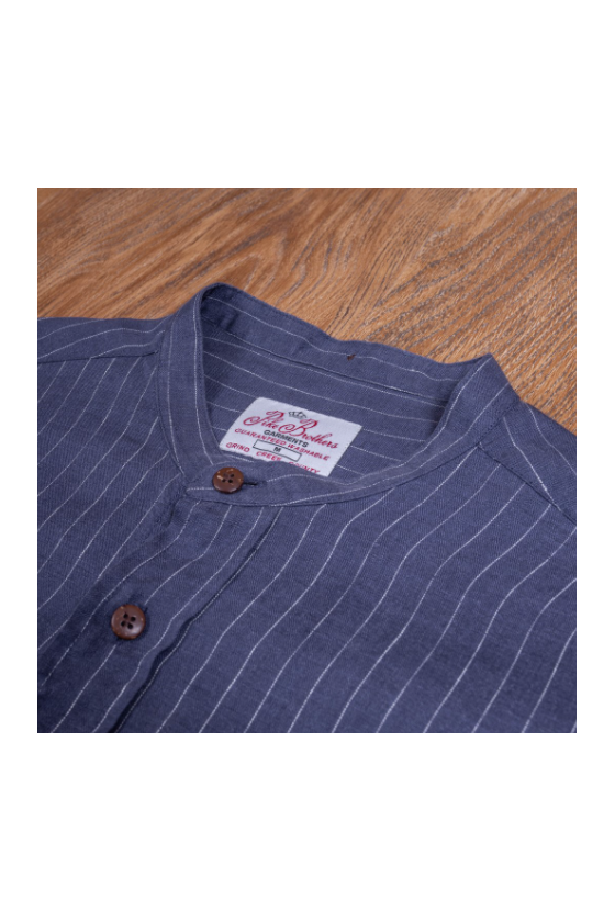 Chemise 'Pike Brothers' Buccanoy Hudson Blue