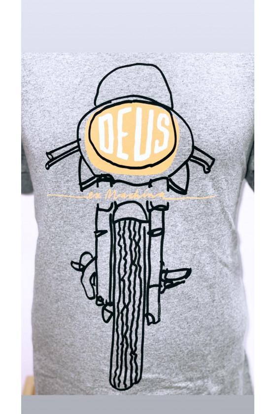 T-Shirt - Frontal Matchless - Deus Ex Machina