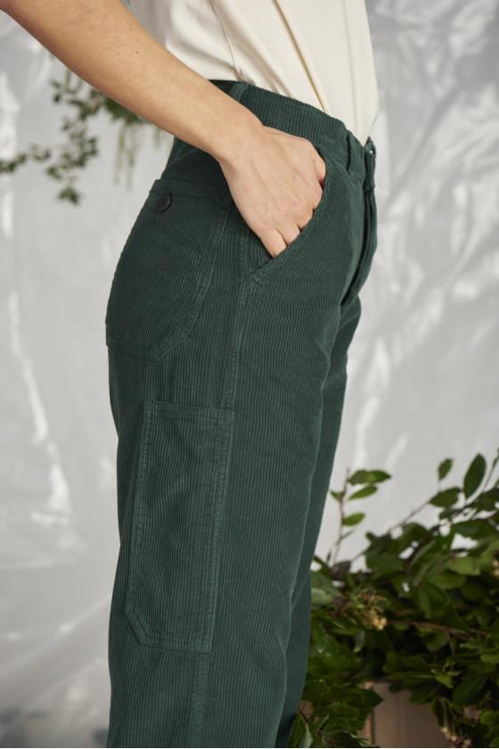 Pantalon - Montagnard Dark Green - Graine