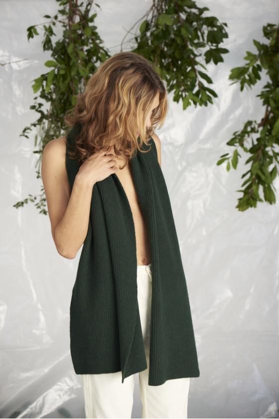 Echarpe - Froid Dark Green...