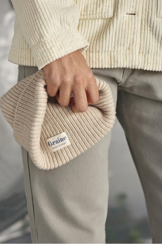 Bonnet - Glace Winter White - Graine