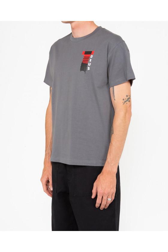 T-shirt - Naito Biarritz Smoked - Deus Ex Machina