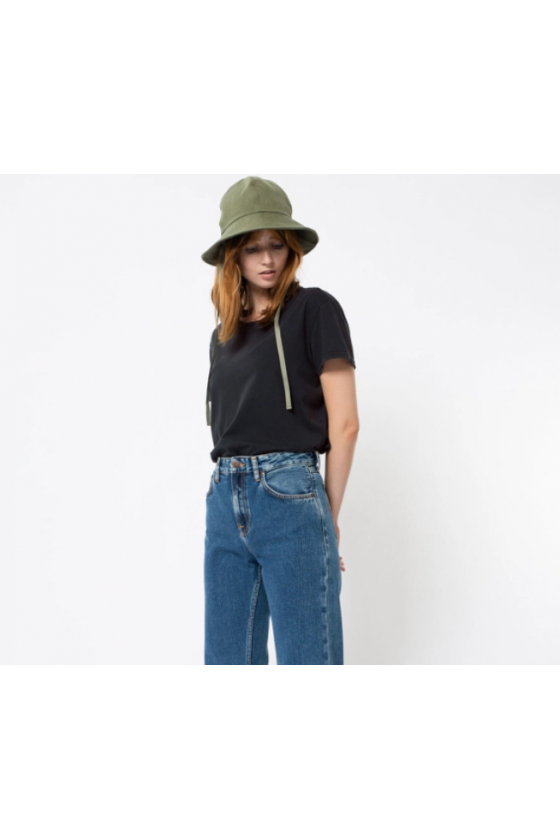 T-Shirt - Lisa Anthracite - Nudie Jeans