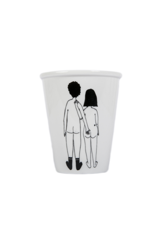 Tasse - Naked Couple -...