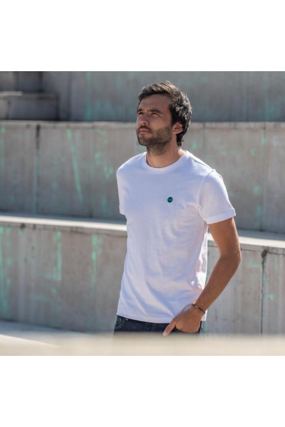 T-Shirt - Flammé Blanc -...