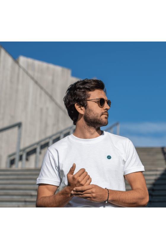 T-Shirt - Flammé Blanc - Billybelt