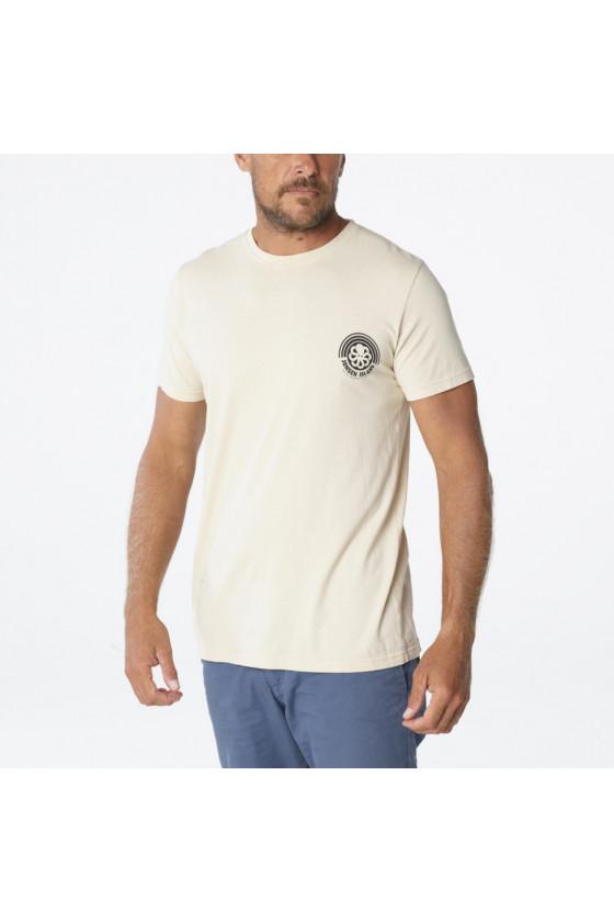 T-shirt 'Jonsen Island' Rainbow Sand