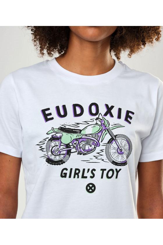 T-shirt 'Eudoxie' Bianca