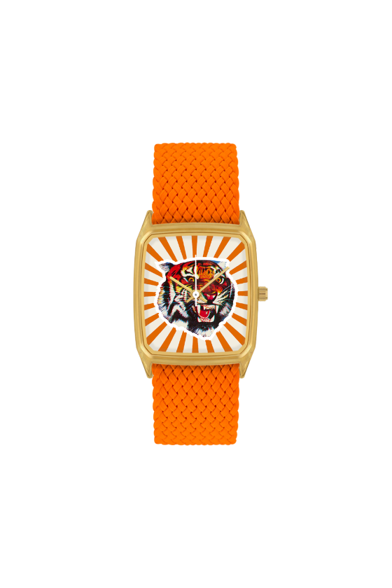 Montre 'LAPS' Bengale Orange