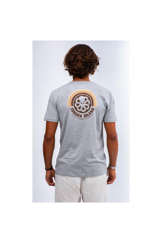 T-shirt 'Jonsen Island' Rainbow HGR