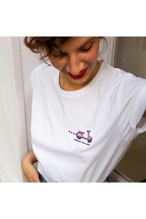 T-shirt 'Faubourg 54' Love...