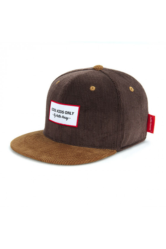 Casquette 'Hello Hossy' Sweet Brownie