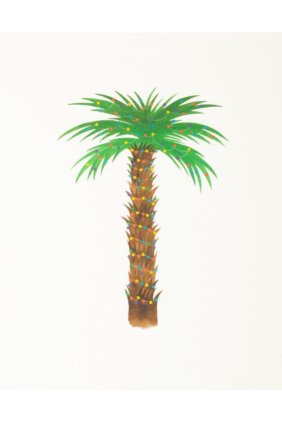 T-shirt 'Olow' Christmas Palm