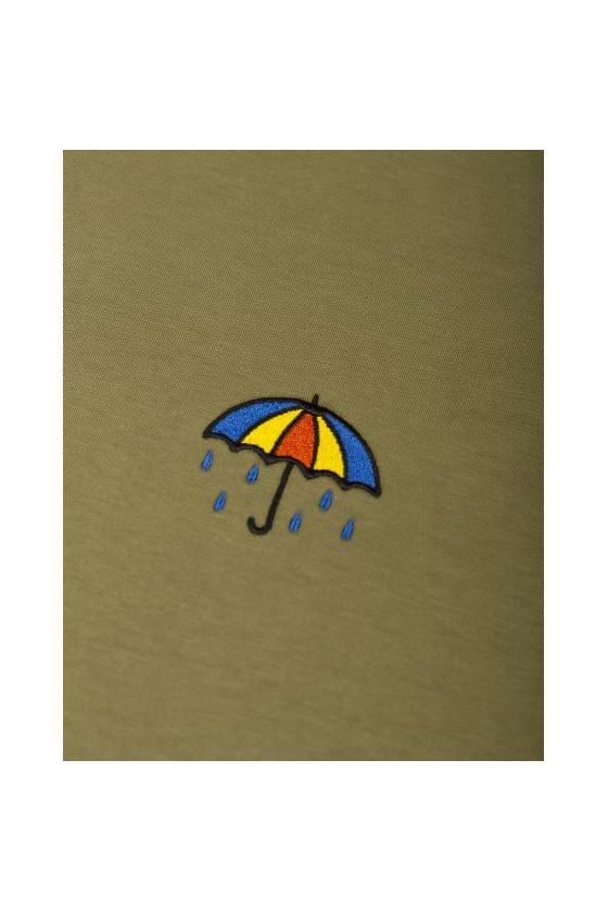 T-shirt 'Olow' Parapluie Olive