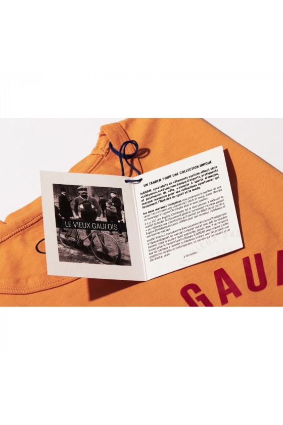 T-shirt 'Sport d'Epoque' Vieux Gaulois Vélo Ailé