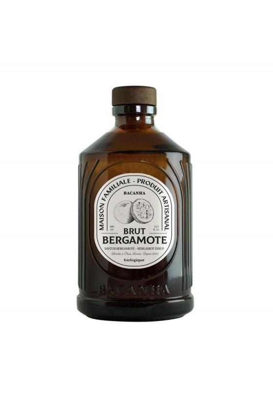 Sirop Bio 'Bacanha' Bergamote
