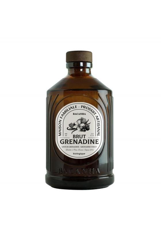 Sirop Bio 'Bacanha' Grenadine