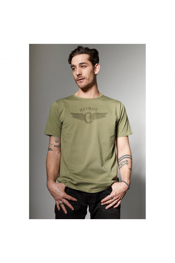 T-shirt 'Kytone' Turn Green