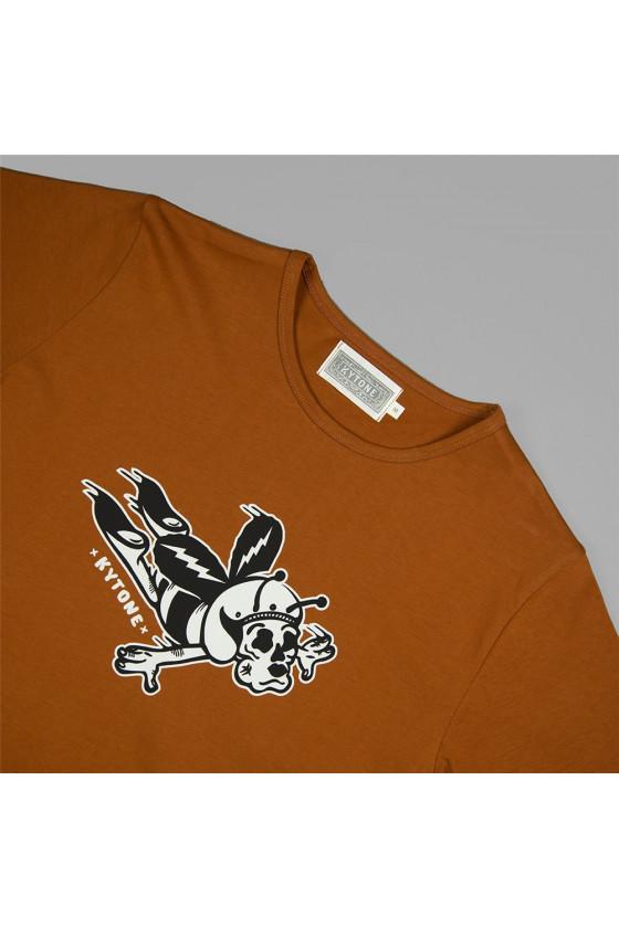 T-shirt 'Kytone' Get Down 2 Terracotta