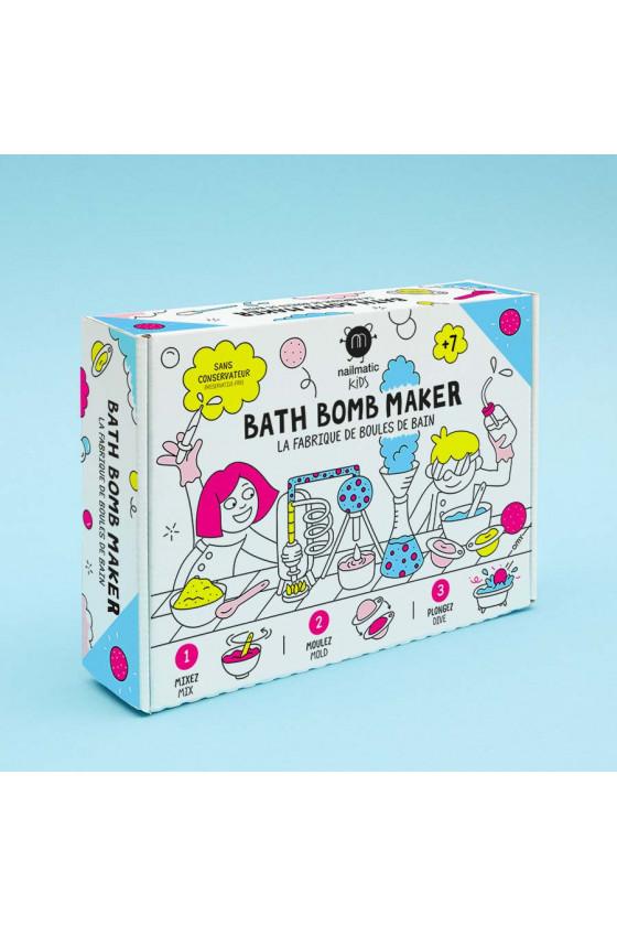 Fabrique de boules de bain...