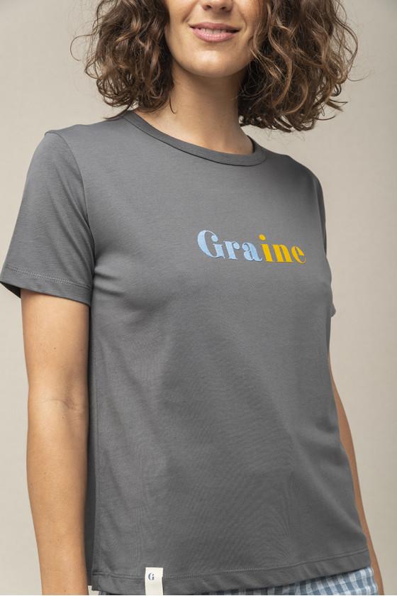 T-shirt 'Graine' Ecume