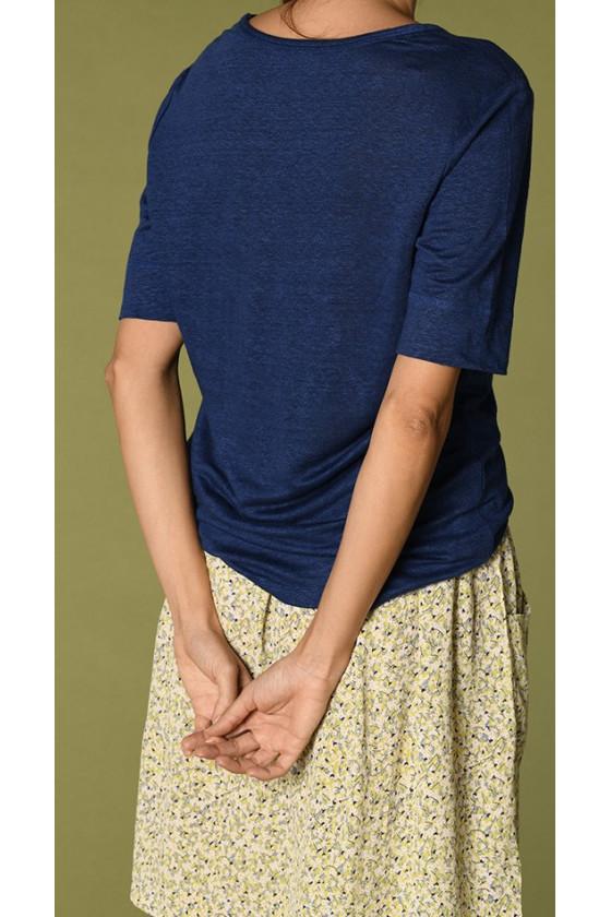 T-shirt - Idaloa Outremer - Harris Wilson